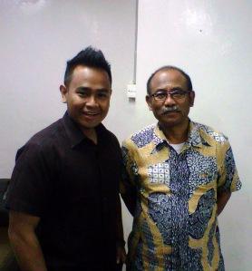 bersama Dr. Agus Sarsito, M.For (Sekjen KEMENHUT RI)
